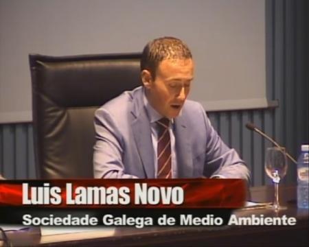 Luis Lamas Novo. - Encontro: A xestión dos recursos ambientais en Galicia: experiencias, retos e perspectivas